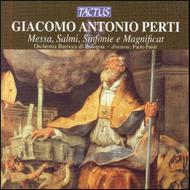 Perti - Mass, Two Psalms, Two Symphonies, Magnificat | Tactus TC661602
