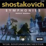 Shostakovich - Complete Symphonies (slipcase) | Brilliant Classics 6324