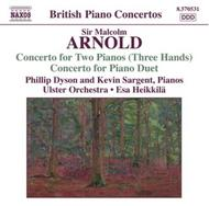 Arnold - Concerto for 2 Pianos (3 hands)