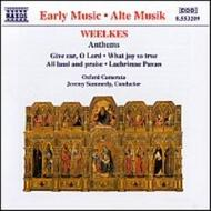 Weelkes - Anthems | Naxos 8553209