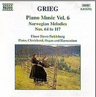 Grieg - Piano Music Vol 6 | Naxos 8553392