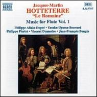 Hotteterre - Music for Flute vol. 1 | Naxos 8553707