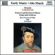 Gibbons - Music for Viols, Voices and Keyboard | Naxos 8550603