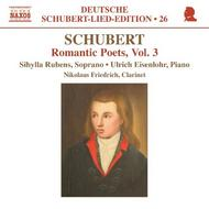 Schubert - Romantic Poets Vol.3