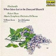 Hindemith - When Lilacs Last in the Dooryard Bloom'd  | Telarc CD80132