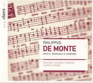 Philippus de Monte - Motets, Madrigals & Chansons | Claves 502712