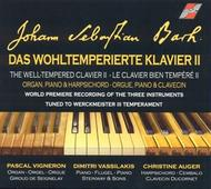 Bach - The Well-Tempered Clavier Book 2 | Quantum QM7043