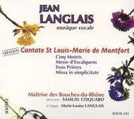 Jean Langlais - Vocal and Organ Music | Solstice SOCD241