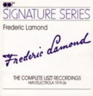 Frederic Lamond – The Complete Liszt Recordings 1919-36 | APR APR5504