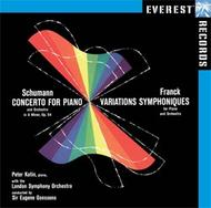 Schumann - Piano Concerto, Franck - Symphonic Variations | Everest EVERCD10