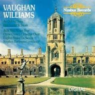 Vaughan Williams - An Oxford Elegy etc | Nimbus NI5166