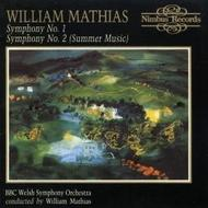 William Mathias - Symphonies 1 & 2 | Nimbus NI5260