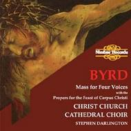Byrd - Mass for Four Voices with the Mass Propers for the Feast of Corpus Christi | Nimbus NI5287