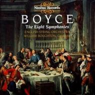 Boyce - The Eight Symphonies | Nimbus NI5345