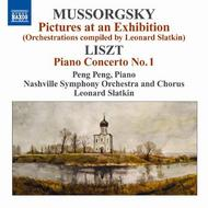 Liszt - Piano Concerto No.1 / Mussorgsky - Pictures at an Exhibition
