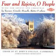 Fear and Rejoice - Music for Advent & Christmas | Nimbus NI5589