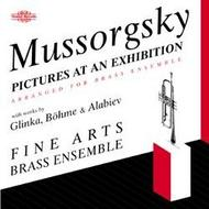 Mussorgsky - Pictures at an Exhibition (arr. for brass ensemble) | Nimbus NI5645