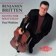 Britten - Suites for Solo Cello | Nimbus NI5704