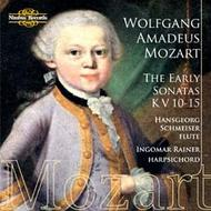 Mozart - The Early Sonatas K10-15 | Nimbus NI5754