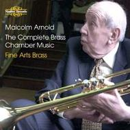 Malcolm Arnold - The Complete Brass Chamber Music | Nimbus NI5804