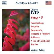 Ives - Complete Songs Vol.5 | Naxos - American Classics 8559273