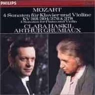 Mozart: 4 Violin Sonatas for Piano and Violin, Nos.18, 21, 24 & 26 | Philips E4122532