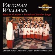 Vaughan Williams - Mass In G Minor, Sacred and Secular Songs | Nimbus NI5083
