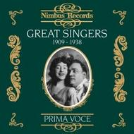 Great Singers Vol.1 (1909-1938) | Nimbus - Prima Voce NI7801