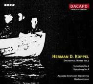 Koppel - Orchestral Works vol.3 | Dacapo 8226016