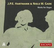 JPE Hartmann & NW Gade - Works for Organ | Dacapo 8226026