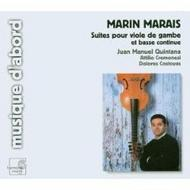 Marais - Suites for viola da gamba