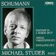 Michael Studer plays Schumann