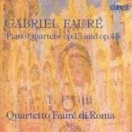 Faure - Piano Quartets