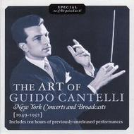 The Art of Guido Cantelli - New York Concerts & Broadcasts | Music & Arts MACD1120