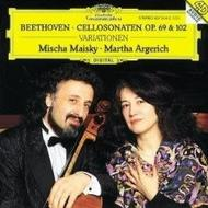 Beethoven: Cello Sonatas Op.69 & 102; Variations | Deutsche Grammophon E4375142