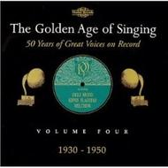 The Golden Age of Singing Vol.4, 1930 - 1950 | Nimbus NI7056
