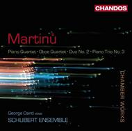Martinu - Chamber Works | Chandos CHAN10551