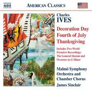 Ives - Holidays Symphony (excerpts), etc | Naxos - American Classics 8559370