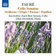 Faure - Music for Cello and Piano | Naxos 8570545