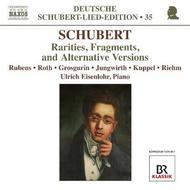 Schubert - Rarities, Fragments & Alternative Versions