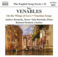 Venables - On the Wings of Love, Venetian Songs