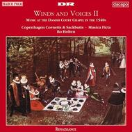 Winds & Voices II: Music at the Court of King Christian III | Dacapo 8224077