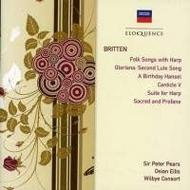 Britten - Folk Songs with Harp, Suite for Harp, etc | Australian Eloquence ELQ4429448