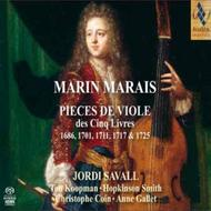 Marais - Pieces for Viol from the 5 Books