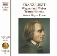 Liszt - Wagner and Weber Transcriptions