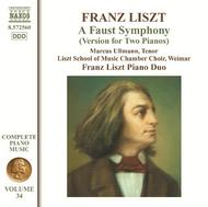 Liszt - A Faust Symphony (Version for Two Pianos)