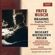 Fritz Busch conducts Brahms, Mozart, Reger & Beethoven | Guild - Historical GHCD2371