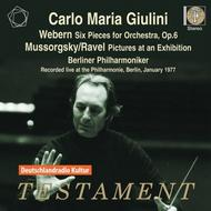 Giulini conducts Webern and Mussorgsky/Ravel