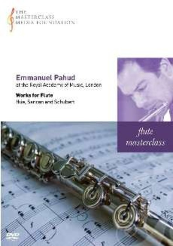 Emmanuel Pahud: Flute Masterclass from the Royal Academy of Music, London