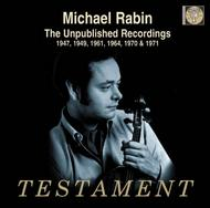 Michael Rabin - The Unpublished Recordings